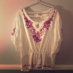 Ariat Loose Blouse with Waist-Ties!
